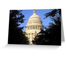 Nation's Capitol Greeting Card