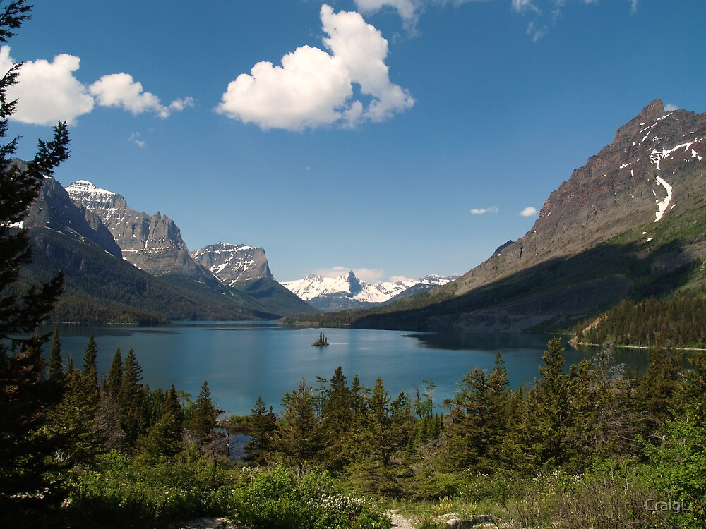 Saint Mary Lake by CraigL
