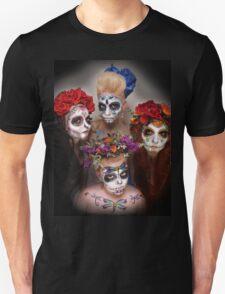 dia des los muertos- sugar skulls 5 T-Shirt