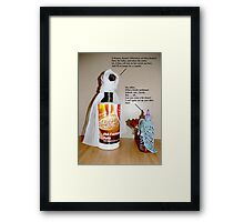My Pantry Does Shakespeare: Romeo & Juliet Framed Print