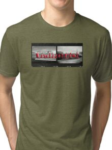 Double Industrial  Tri-blend T-Shirt
