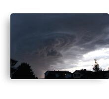 Tonight's Storm... Canvas Print
