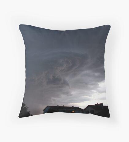 Tonight's Storm... Throw Pillow