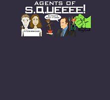 Agents of SQUEEEE!!!!!! (dark colors) T-Shirt