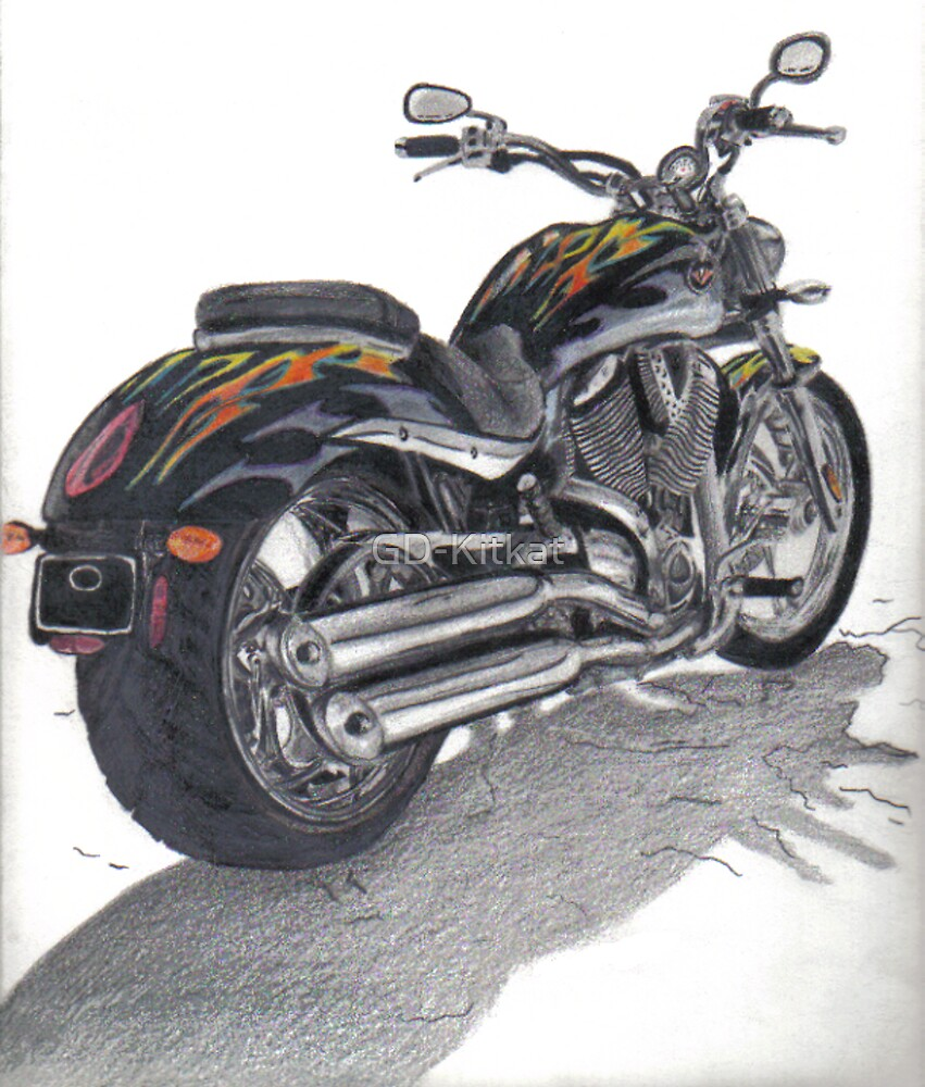 Motorcycle by GD-Kitkat