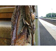 le chemin de fer Photographic Print