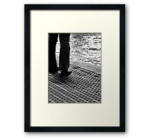 Contemplation to Wade Framed Print