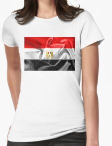 Egypt Flag Womens Fitted T-Shirt