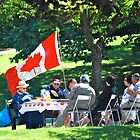 Celebrating Canada Day 1st July 2009 by Carol Clifford