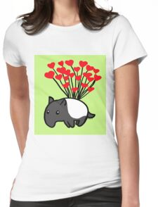 Tapir Love Womens Fitted T-Shirt