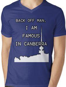 Famous in Canberra Mens V-Neck T-Shirt
