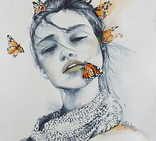 Butterfly Kisses by Sara Riches