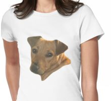 Dog on T by lesquirt Womens Fitted T-Shirt