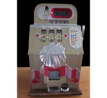 Old Slot Machine  Photographic Print