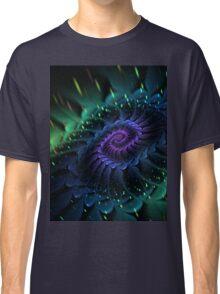 Raw Fractal Bloom Classic T-Shirt
