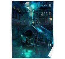 Venice Moon Poster