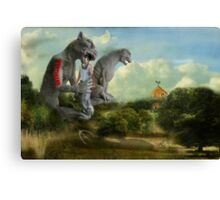 New American Landscape Canvas Print