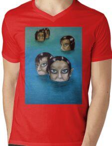 WATER NYMPHS Mens V-Neck T-Shirt