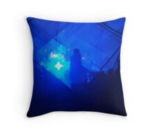 (once in a..)  Blue Moon Throw Pillow