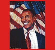 Yes We Can, Barak Obama by Sandra Hansen