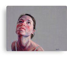 Bianca Looking Upward Canvas Print