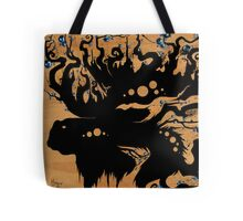 Blueberry Moose Tote Bag