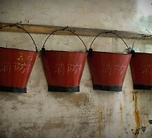 Red Buckets by tristanchan