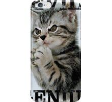 Evil Genius - The Cat iPhone Case/Skin
