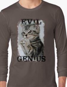 Evil Genius - The Cat Long Sleeve T-Shirt