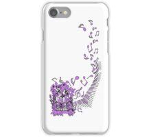Singing birds iPhone Case/Skin