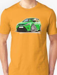 Ford Focus RS (Mk2) Green T-Shirt