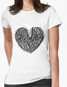 Chompheart. Womens Fitted T-Shirt