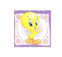 Tweety sticker by t0nialar