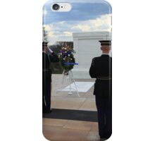 Arlington Cemetary Tomb Of The Unknown Soldier iPhone Case/Skin