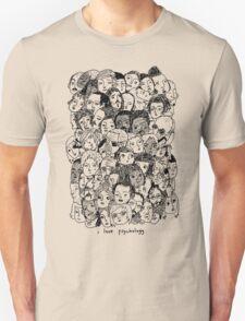 I Love Psyhology. Unisex T-Shirt
