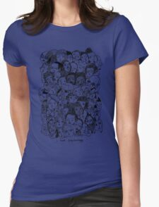 I Love Psyhology. Womens Fitted T-Shirt