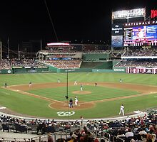 Washington Nationals Baseball Ballpark by Judson Joyce