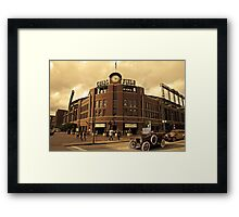 Old Time Coors Field Look Framed Print