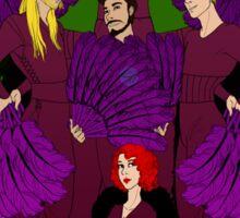 Burlesque Avengers Sticker