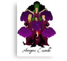 Burlesque Avengers Canvas Print