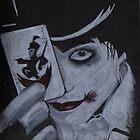Gerard way a clockwork orange joker from the Black parade by XXVenganzaXX