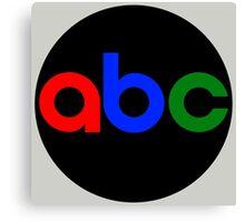 ABC Network Color ID Canvas Print