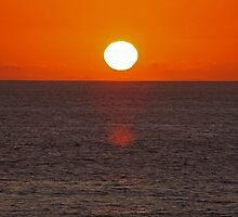 Carlsbad State Beach Sunset by Judson Joyce