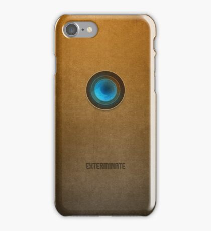 Doctor Who - Dalek Exterminate iPhone Case/Skin