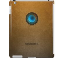 Doctor Who - Dalek Exterminate iPad Case/Skin