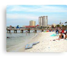 Pensacola Bay Area  (Quietwater Beach)  Canvas Print