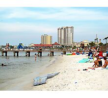 Pensacola Bay Area  (Quietwater Beach)  Photographic Print
