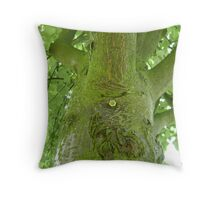 Tree Monster ! Throw Pillow