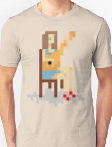8-Bit Girl With Guitar. Unisex T-Shirt