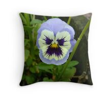 That's One Grumpy Flower! Throw Pillow